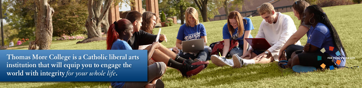 Students at Thomas More College
